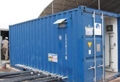 Unité Mobile de traitement d'eau de mer
